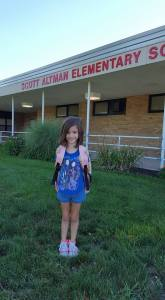 Ashlyn First Day
