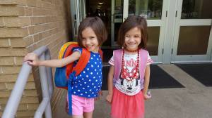Twins Last Day of Preschool